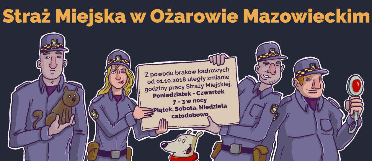 Straż miejska w Ożarowie Mazowieckim